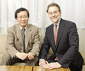 Yoshinori Tokura (L) and David Pendlebury (R). Click to enlage image (a new browser window will open, simply close to return to this page).